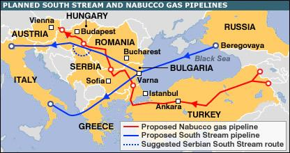 Gazprom signs South Stream gas pipeline deal with Serbia