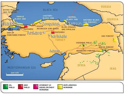Turkey Ministry Energy Natural Resources
