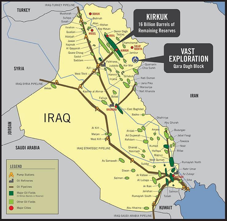 Iraq: Vast Exploration closes $10 million private placement ...