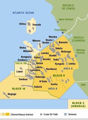 Angola Chevron Announces First Oil From Mafumeira Norte Field