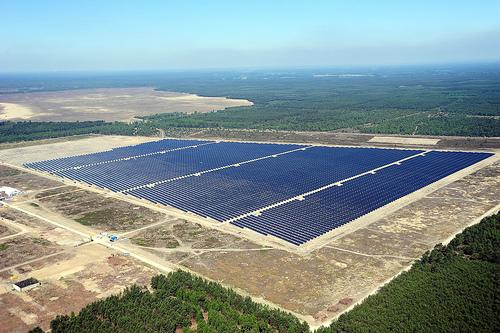 Germany Lieberose Solar Farm Becomes Germany S Biggest