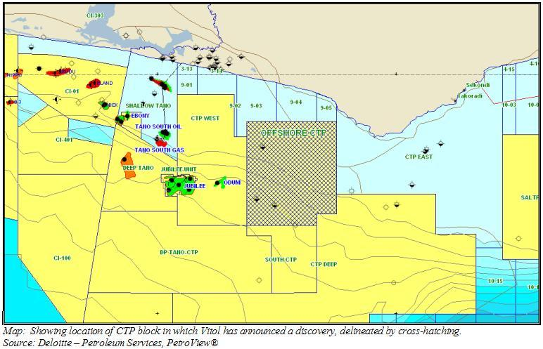 Ghana: Vitol announces discovery at Cape Three Points Block