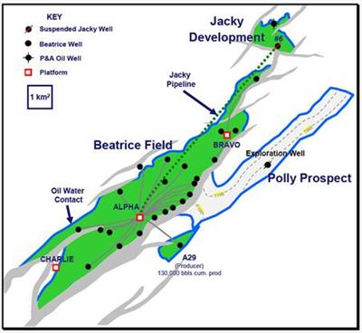 UK Ithaca Energy updates production performance from the Jacky and