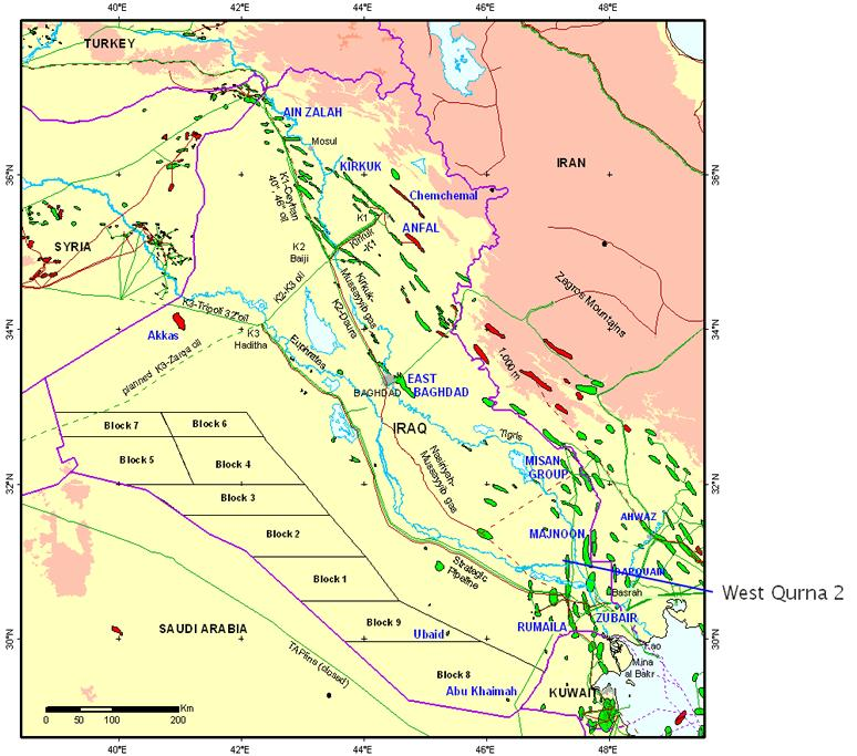Iraq West Qurna Oil Field 2