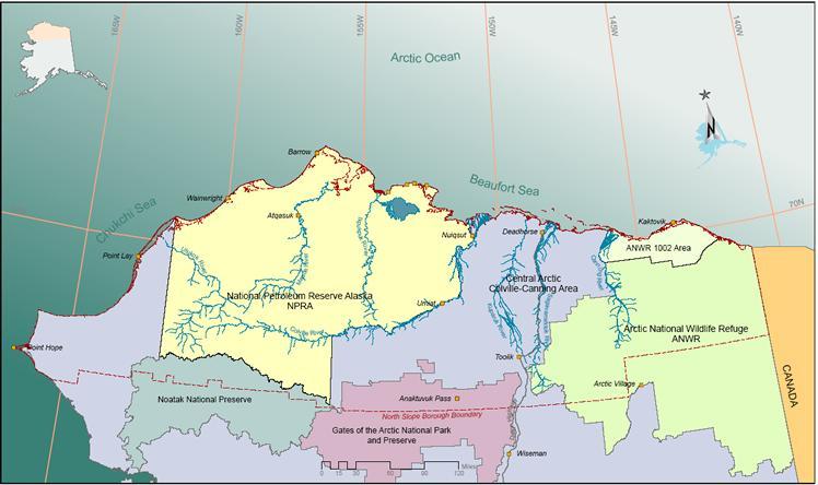 US Alaska North Slope Oil Decline To Slow