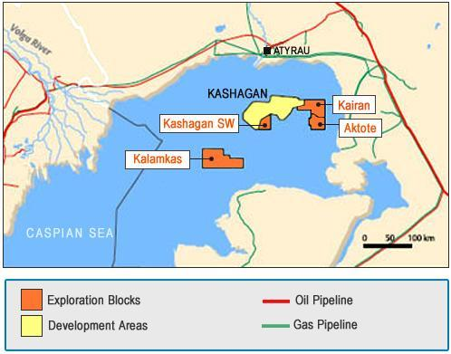 Kazakhstan says Kashagan oil field safe from tax review