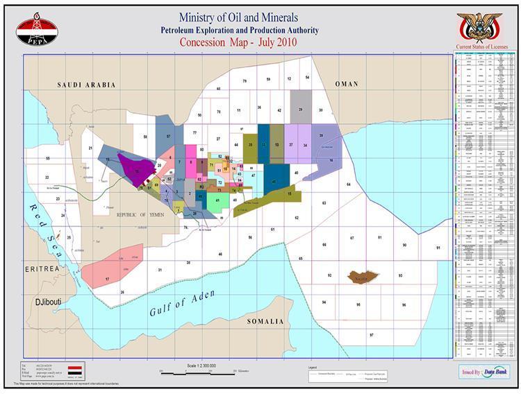 Yemen to tender 10 oil and gas blocks