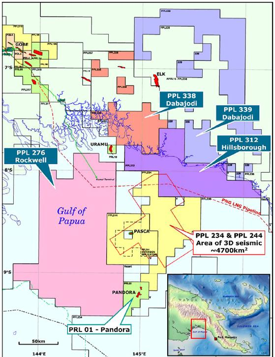 PNG: Oil Search farms into four new exploration licences in