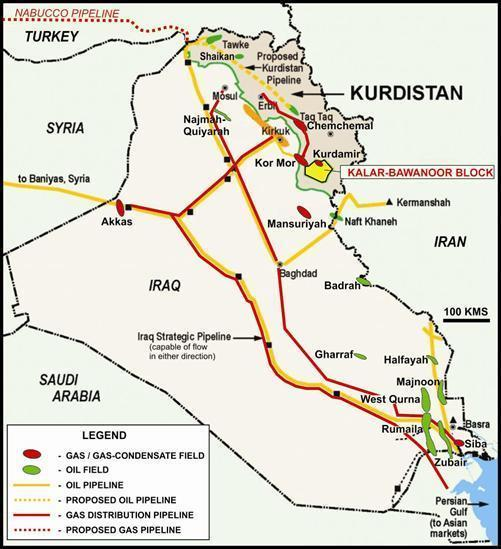 iraq  oil exports from iraqi kurdistan unlikely to resume feb 1