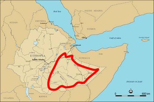 Ethiopia may take over PETRONAS assets in the Ogaden Basin