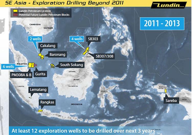 Indonesia  Lundin Petroleum Awarded Psc For The Gurita