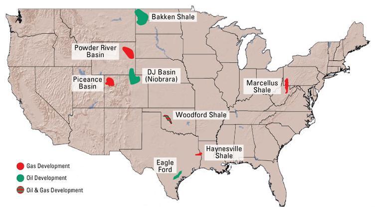 US Marubeni Acquires Niobrara Oil Shale Interest From Marathon In - Us oil shale map