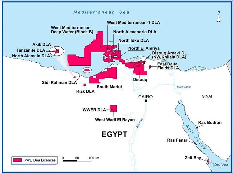 Egypt Natural Gas Production