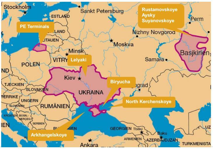 Ukraine Shelton Petroleum Spuds New Well At The Lelyaki