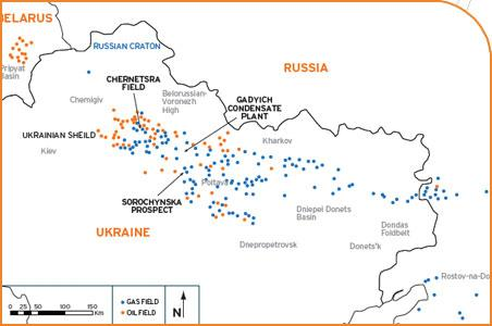 Ukraine: Hawkley Oil & Gas reports successful Sorochynska 202 well test452 x 300 jpeg 21kB