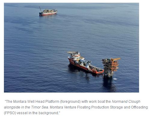 Australia: Oil production begins from PTTEP's Montara field