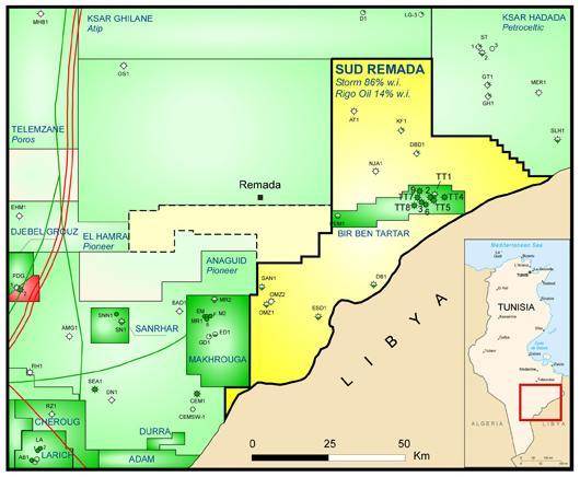 Wireline Field Operator 1 El Reno Ok: Tunisia: Chinook Energy Suspends El Bell-1 Well On The Sud