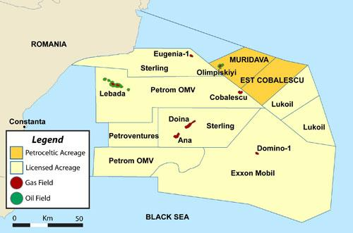 Romania Petroceltic To Spud Exploration Well In Block Ex 28