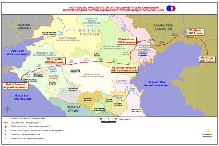 Kazakhstan: Expanded Caspian Pipeline hits record high oil