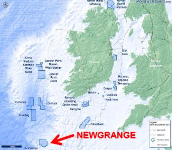 Map Of Ireland Newgrange.Ireland Providence Resources To Acquire Long Offset 2d Seismic Over