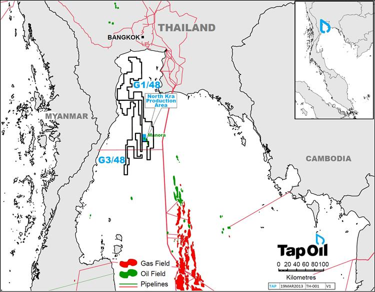 Thailand: First oil from Gulf of Thailand Manora oil