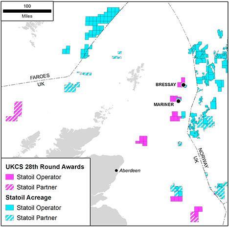 bressay offshore development