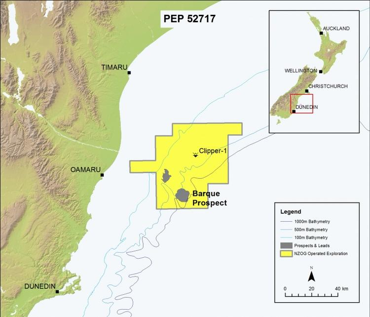 New Zealand: New Zealand Oil & Gas Granted PEP 52717