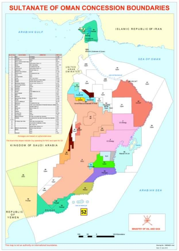 Oman Eni Signs Epsa For Block 52 Offshore Oman Assigns 30 To