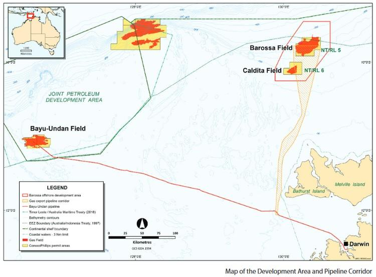 Australia: ConocoPhillips awards Barossa Subsea Production